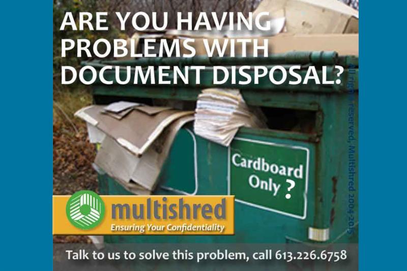 Êtes-vous des problèmes avec votre élimination des documents? - Multishred