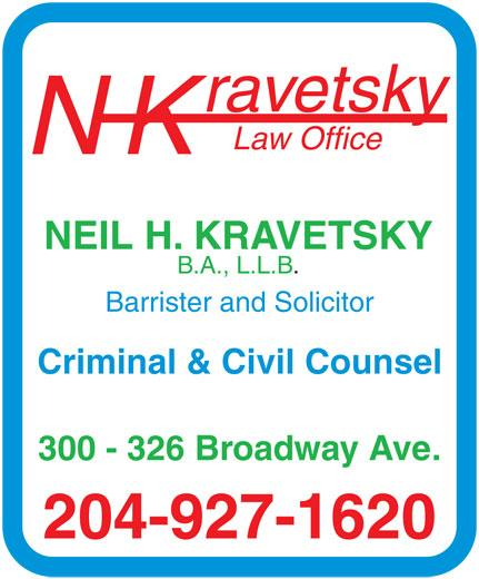 Kravetsky Criminal Defence Lawyer - Photo 1