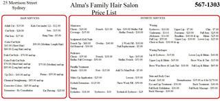 Alma's Family Hair Salon - Photo 9