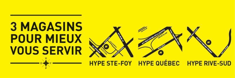 Hype Ski Vélo - Photo 1