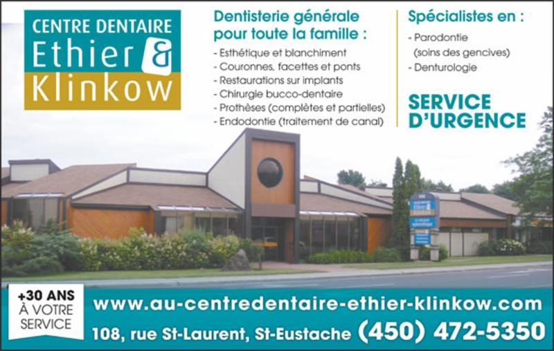 Centre Dentaire Ethier & Klinkow - Photo 1