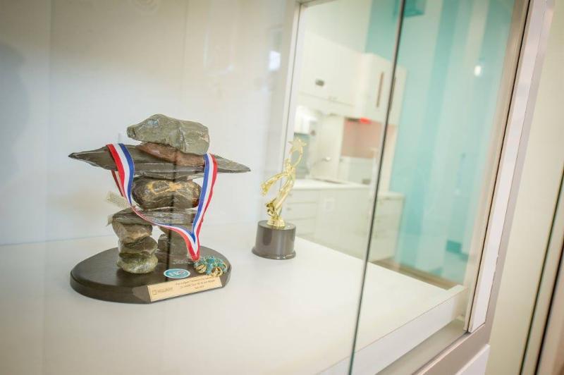 PROFESSIONNALISME : L'équipe dentaire du Docteur Ho a remporté le prestigieux Prix d'Excellence de l'Institut Dentaire International pour souligner la qualité de son travail d'équipe et son dévouement pour la santé de ses patients. - Clinique Dentaire Ho