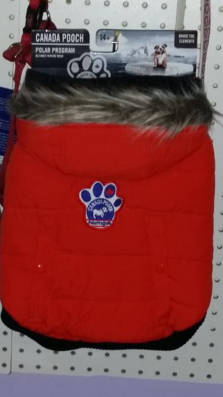 Canada Pooch winter coats - Compagnons Quatre Pattes