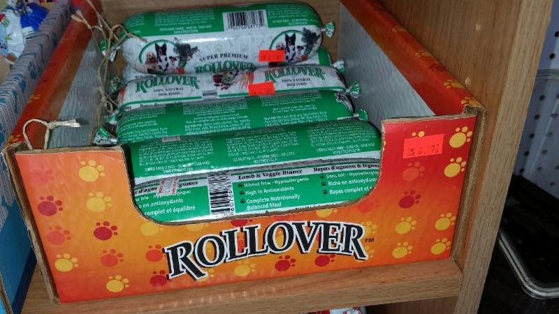 Rollover food for dogs     Lamb and vegetables - Compagnons Quatre Pattes