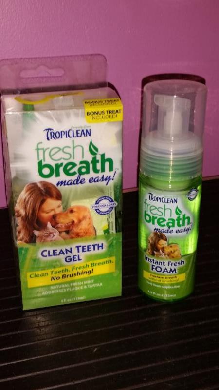 Tropiclean     nettoyer les dents sans brossage - Compagnons Quatre Pattes