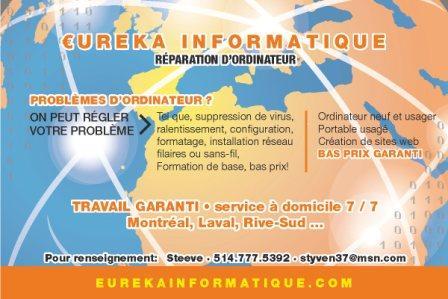 Eureka Informatique - Photo 1