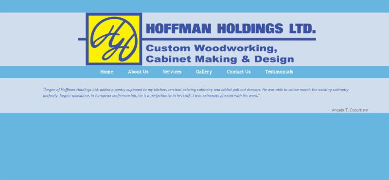 Hoffman Holdings Ltd Port Moody Bc 3055 Spring St