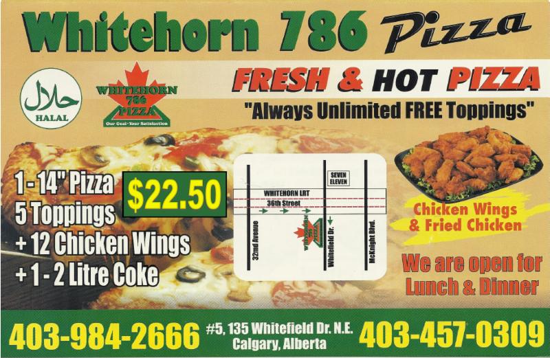 Whitehorn 786 Pizza Ltd - Photo 1