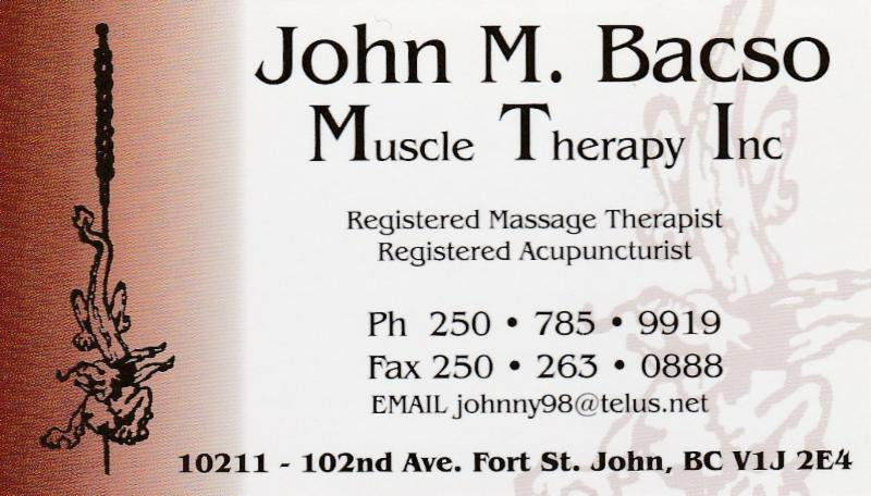 Bacso John M Muscle Therapy Inc - Photo 1