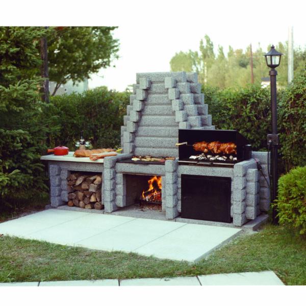 Foyers feu ardent inc les l vis qc 724 ch for Foyer exterieur montreal