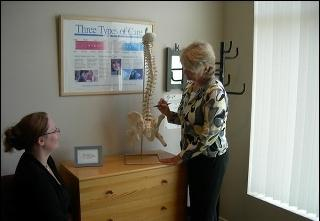 Learning about your spinal issue.