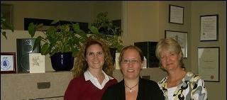 Dr.Beverly Tyler BScK, DC     Lisa (reception)     Dr.Joan Davidson BSc, Dip.Ed, DC