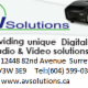 AV Solutions BC Ltd - Audiovisual Equipment & Supplies - 604-599-0333