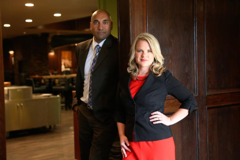Meet our Partners:  Hardeep Chahal and Kerri Priddle.