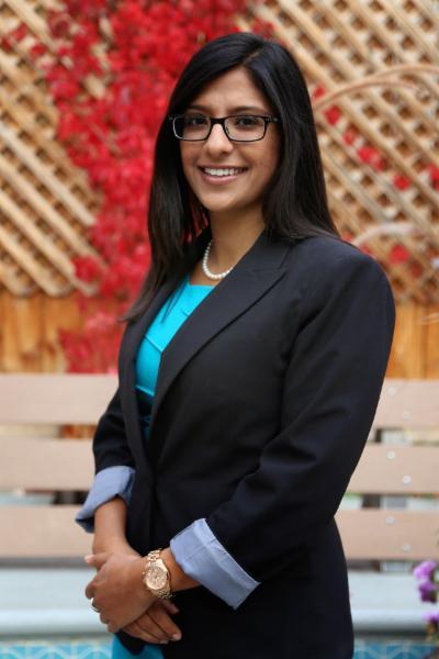 Our wonderful and brilliant Associate:  Ms. Jasmine Kooner.