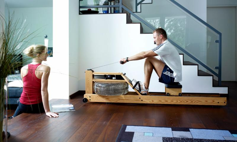 "We sell WaterRower! Made popular by Netfix's ""House of Cards"".  Maximize Gain, Minimize Time - rowing can burn in excess of 1000 calories per hour. Come try one out! - Spartan Fitness Equipment"