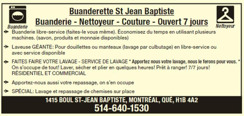 Buanderette St Jean Baptiste Enr - Photo 1