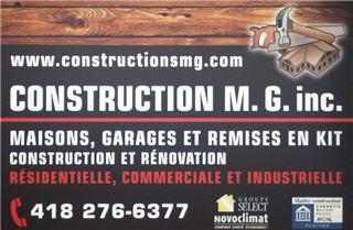 Construction MG Inc - Photo 1