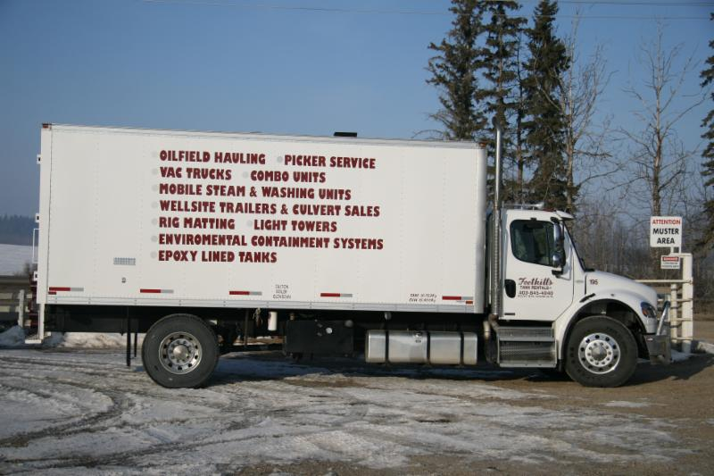 Oilfield Cleaning Services : Foothills tank rentals ltd rocky mountain house ab