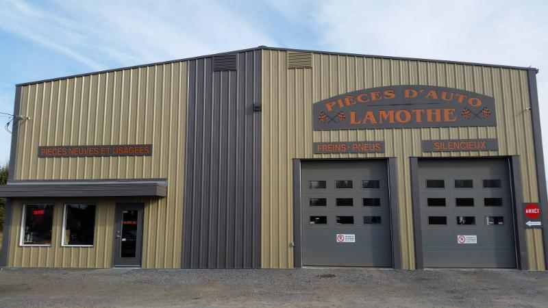 notre nouveau garage