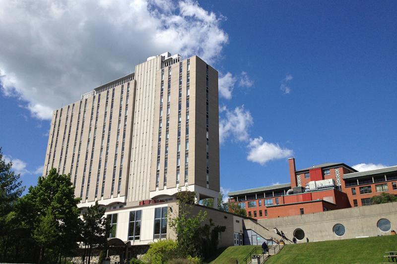 Résidences avec vue sur le centre-ville - Cégep de Sherbrooke
