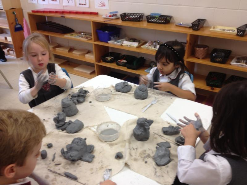 Pottery Making.