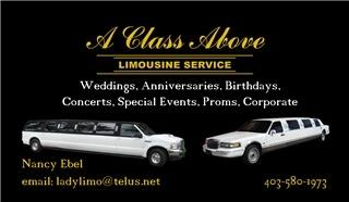 A Class Above Limo - Photo 1