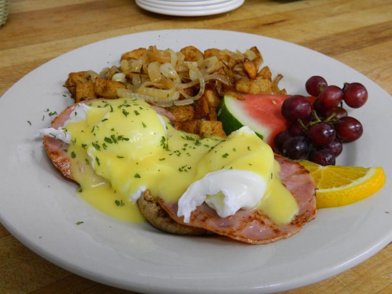 L'un de les meilleurs petit déjeuner en ville! - Chateau Brock
