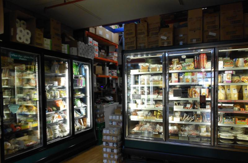 Impressive selection of frozen foods ! Gluten free baked goods, organic meats, poultry, fish, vegetables, fruit, iced desserts and more 1