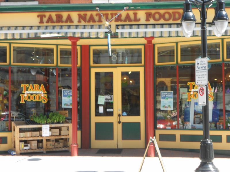 Tara Natural Foods is located in  Kingston Ontario.