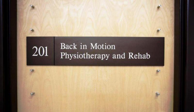 Back In Motion Physiotherapy - Photo 1