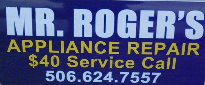 Mr Rogers Appliance Repair Miramichi Nb 20 Sutton Rd