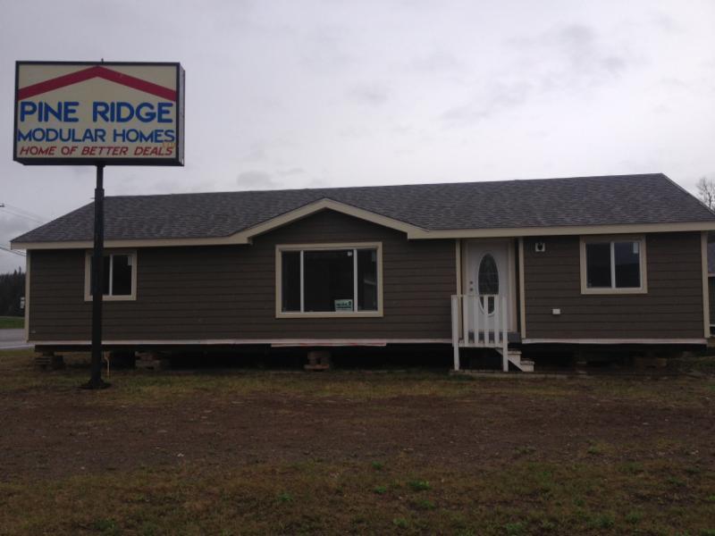 Pine ridge modular homes ltd opening hours 800 for Modular lake homes