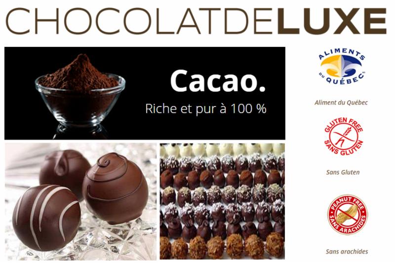 Chocolat Deluxe à Montréal