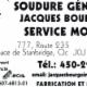 Soudure Générale Jacques Bourgoin - Machine Shops - 450-296-8878