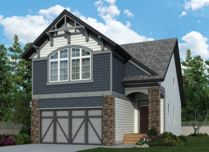 Mahogany Front Garage Show Home 2 Marquis Cove SE