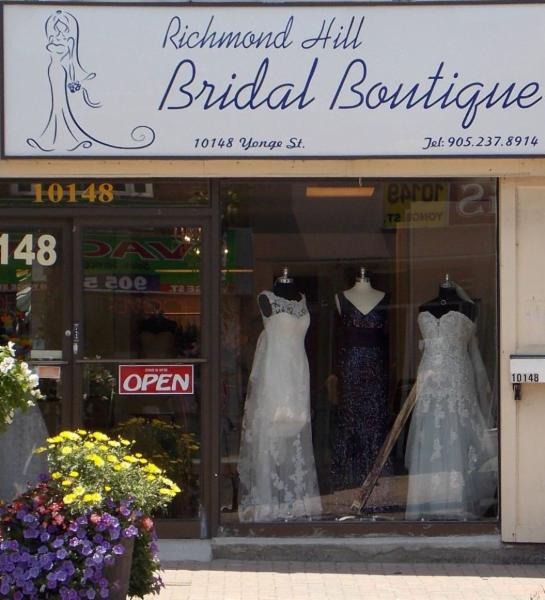 Wedding shop richmond hill for Wedding dress shops richmond va