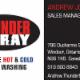 Thunder Spray - Complete Hot & Cold Power Washing - Nettoyage vapeur, chimique et sous pression - 519-800-8843