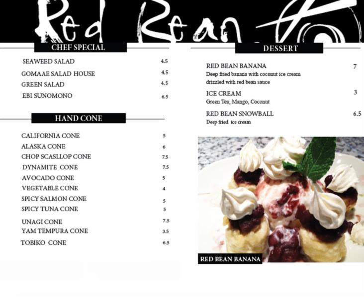 Page 5 - Red Bean Asian Cuisine