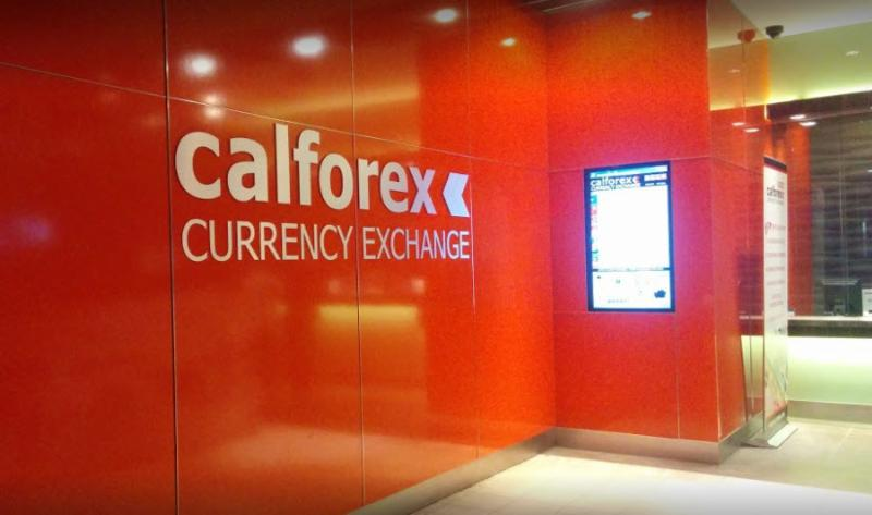 Calforex currency exchange-calgary chinook centre