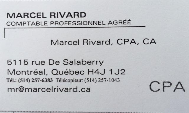 Marcel Rivard, CPA,CA - Photo 1