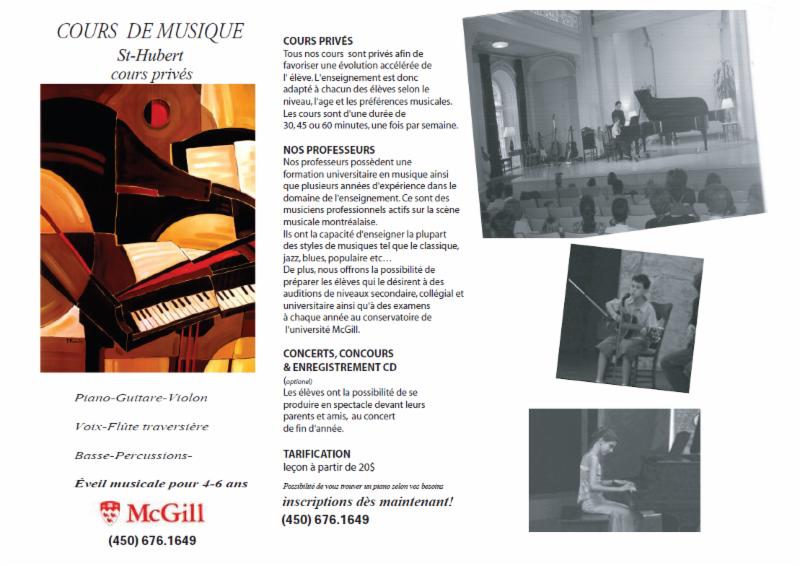 École de Musique St-Hubert - Photo 9