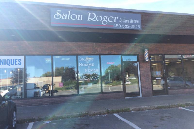 Salon de coiffure pour homme  Salon Roger  a Repentigny