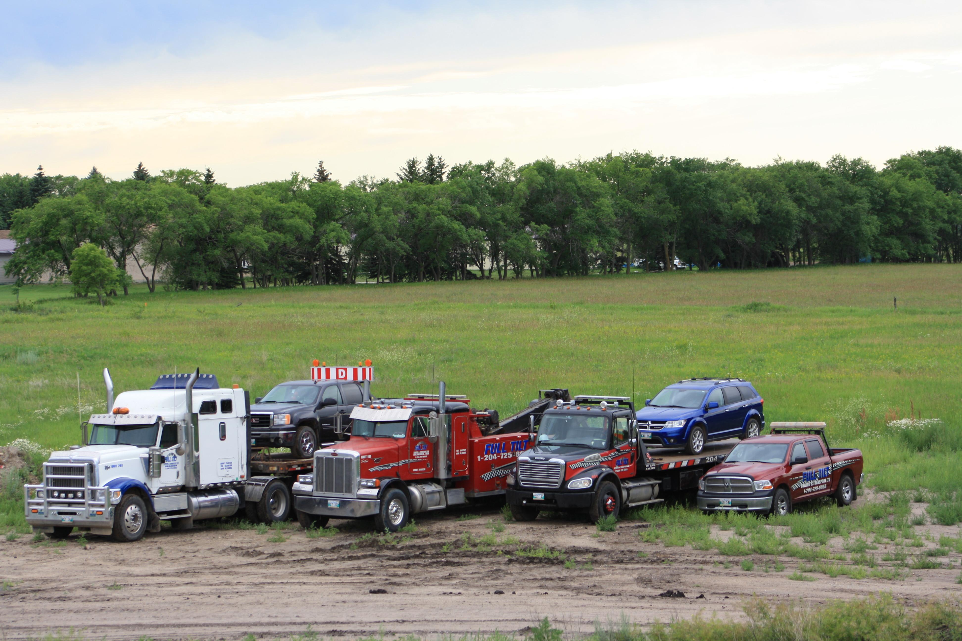 Full Tilt Towing & Transport Ltd - Remorquage de véhicules - 204-725-6055