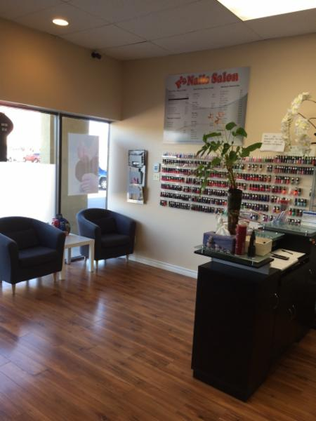 P 39 s nails salon inc opening hours 185 1685 main st w for Nail salon hours