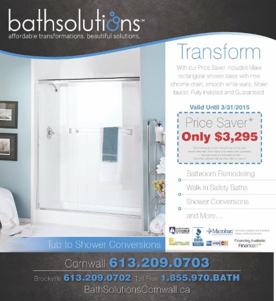 Bath Solutions Cornwall South Glengarry On 5672 Cashion Rd Canpages