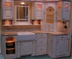 Kitchen cabinetry, Farmers Sink