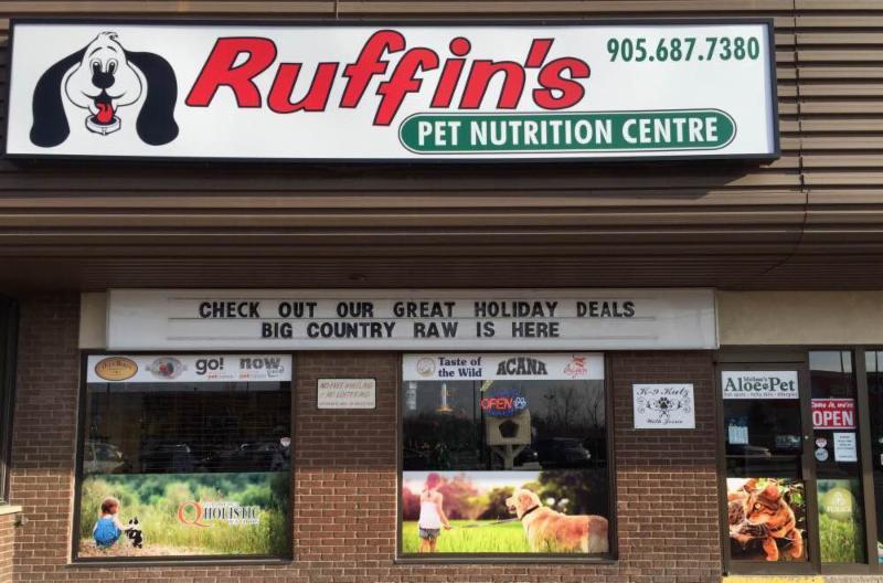 Raw Dog Food St Catharines
