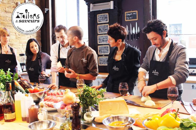 Cours de cuisine - Ateliers & Saveurs