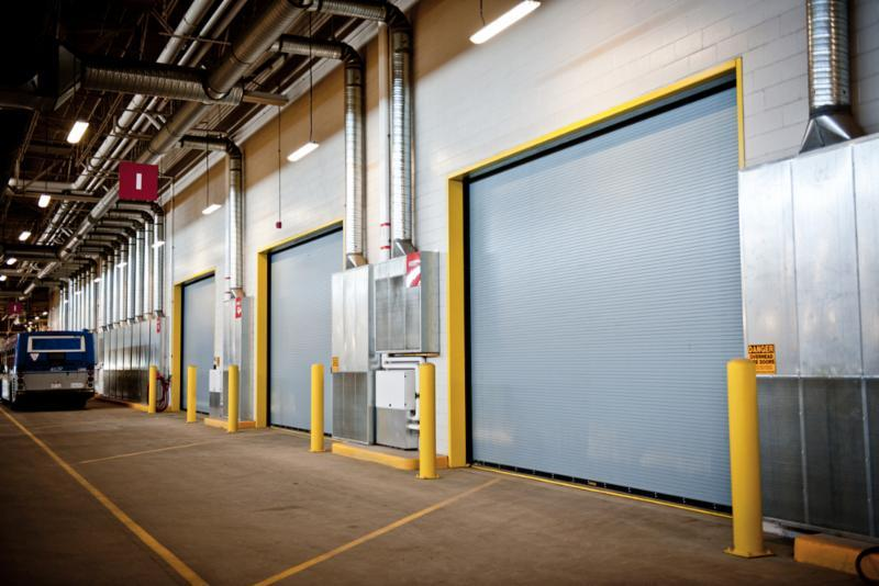 Interior and exterior warehouse and facility solutions.